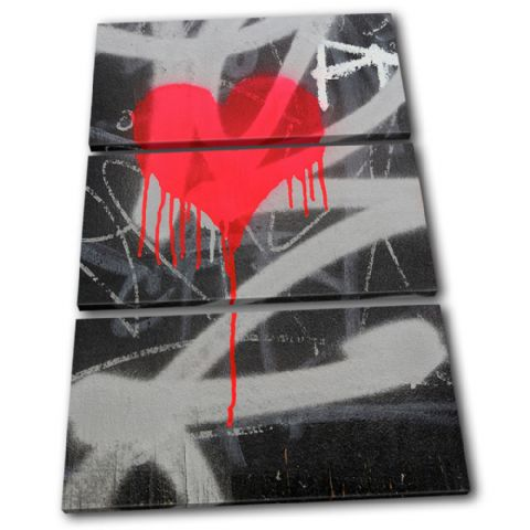 Heart Graffiti Love - 13-1583(00B)-TR32-PO